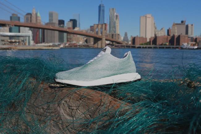 Хотите купить кроссовки, сделанные из отходов? Тогда вам в Adidas!